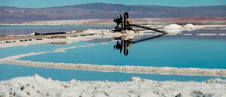 Chile: SQM is affected by the collapse in lithium sales