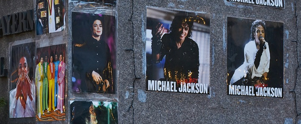 Michael Jackson memorial in Munich, Germany