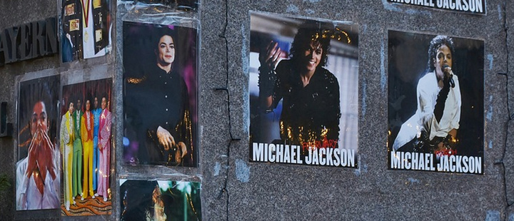 Michael Jackson memorial in Munich, Germany