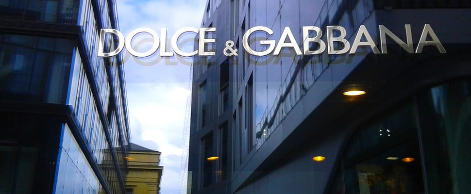 Dolce & Gabbana store entrance in Munich