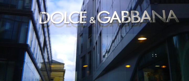 Dolce u0026 Gabbana store entrance in Munich