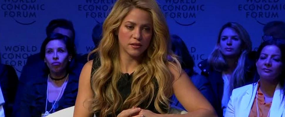 Colombian singer, Shakira