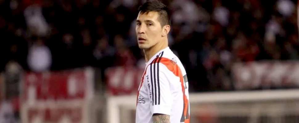Jonathan Fabbro, during a River Plate match