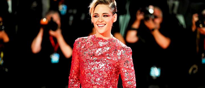 Actor Kristen Stewart poses.