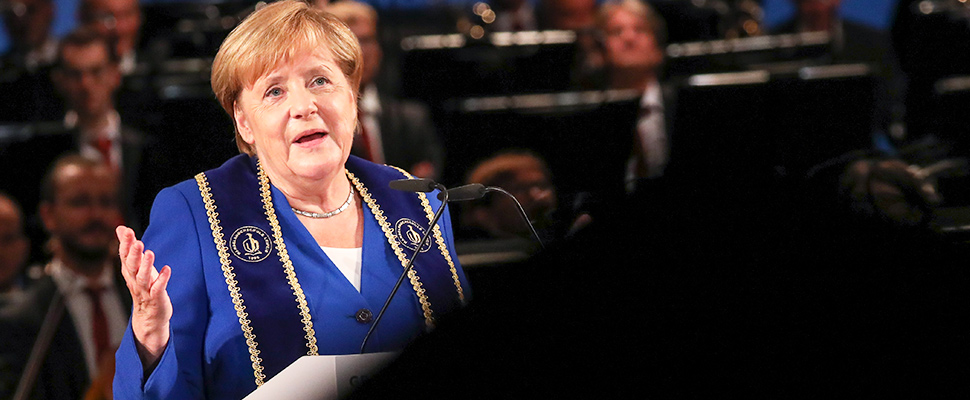 Angela Merkel, Chancellor of the Federal Republic of Germany