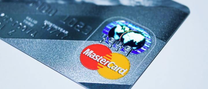 Master Card credit card.