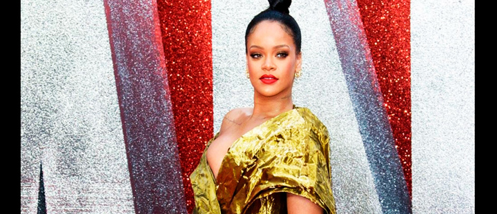 No phones please: this was Rihanna's exclusive fashion show