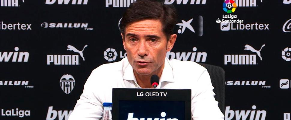 Former coach of Valencia, Marcelino García Toral.