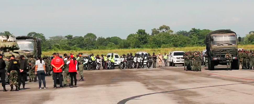 El despliegue militar venezolano y los ejercicios en la frontera con Colombia