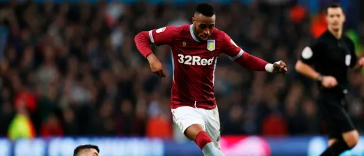 Villa's Kodjia out for three weeks with fractured cheekbone