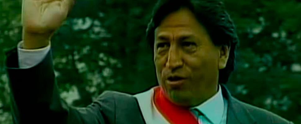 Former President of Peru, Alejandro Toledo.