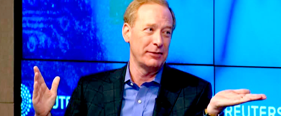 Microsoft Corp President and Chief Legal Officer Brad Smith