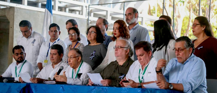 OAS Commission in Nicaragua.