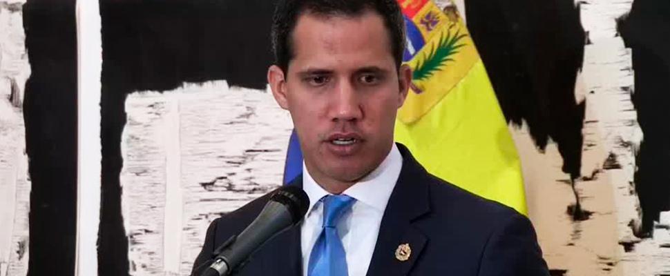 Líder opositor, Juan Guaidó.