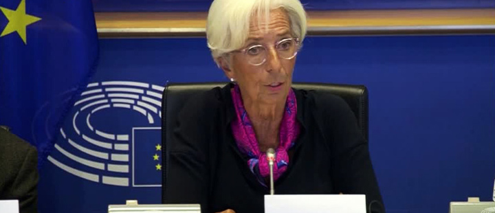 Christine Lagarde managing director of the International Monetary Fund.