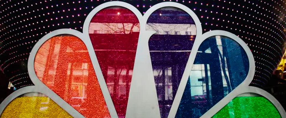 Logotipo de la compañía NBC.
