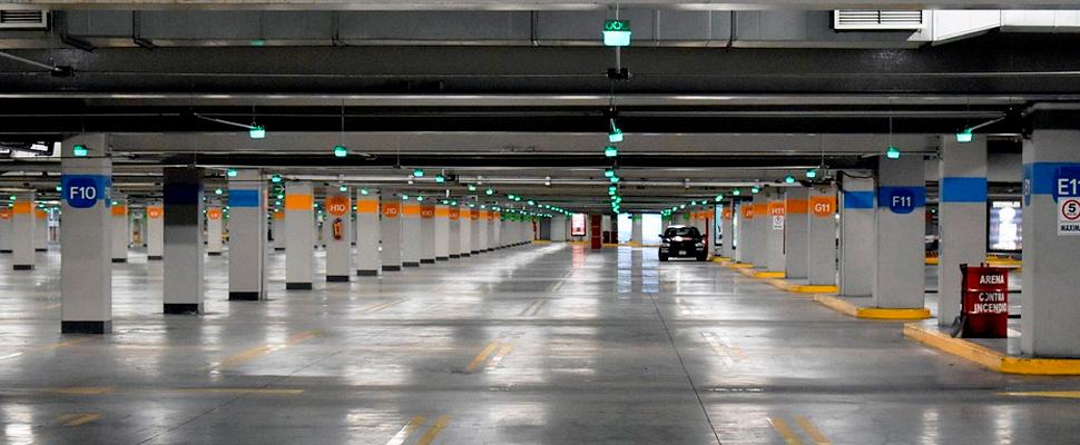 Empty parking.