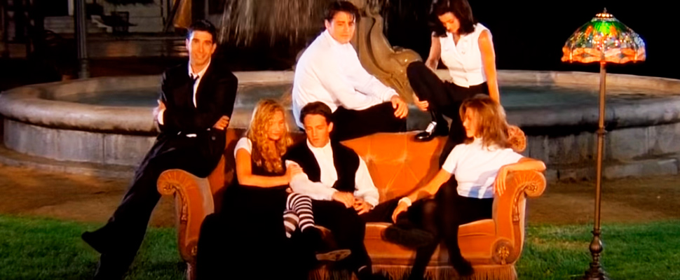Intro of the series 'Friends'