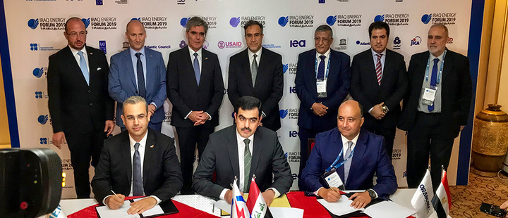 Siemens Power Generation sign deal to rebuild a major power plant complex in Baiji