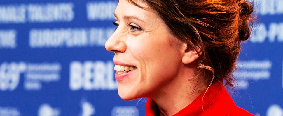 Cineasta Nora Fingscheidt en el Berlinale 2019