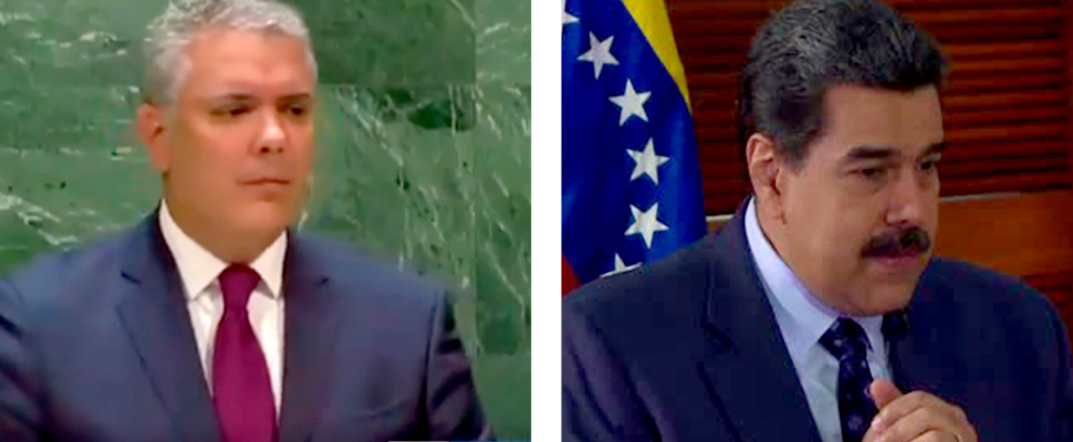 Presidente de Venezuela, Nicolás Maduro, durante una entrevista en el Palacio de Miraflores.
