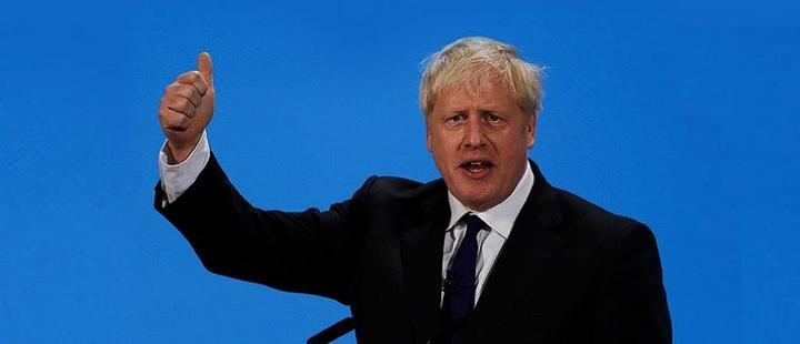 Boris Johnson, Prime Minister of the United Kingdom.