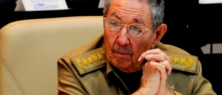 Why did the United States sanction Raúl Castro?