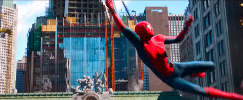 Scene from the movie 'Spider-Man: Far From Home' by Marvel and Sony
