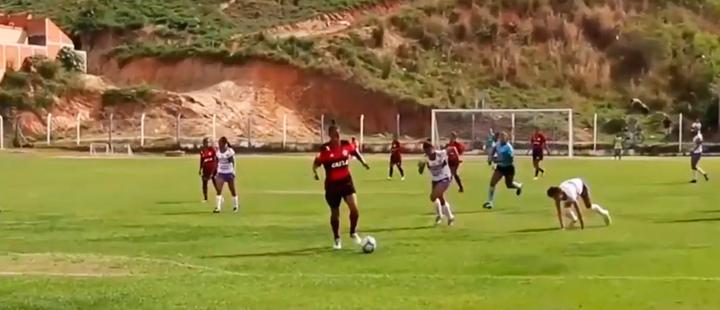 Flamengo match against Greminiho.