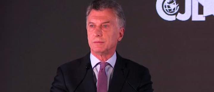 President of Argentina, Mauricio Macri.