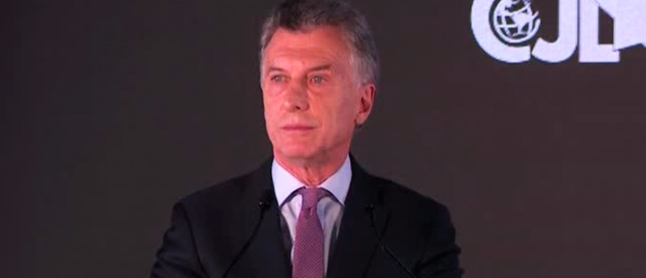 """Yes, we can"", Macri doesn't give up"