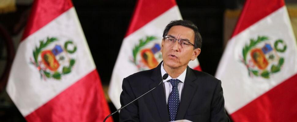 President of Peru, Martín Vizcarra