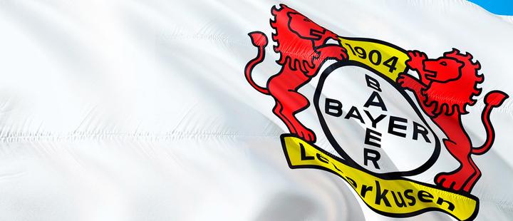 Flag of Bayern Leverkusen.