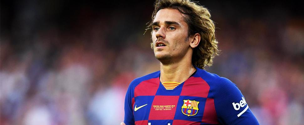 Jugador del FC Barcelona, Antoine Griezmann.