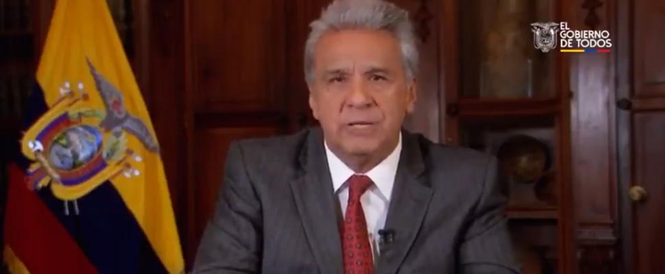 President of Ecuador, Lenín Moreno.
