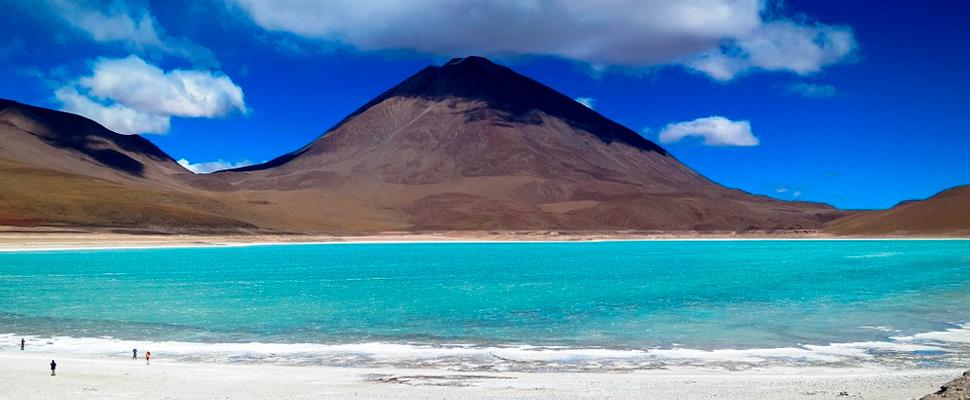 Salar de Uyuni in Bolivia.