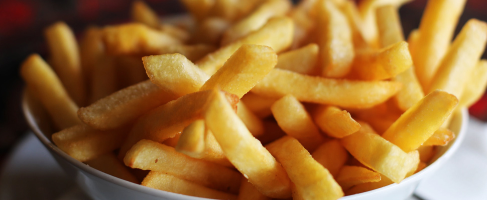 The french fries war begins