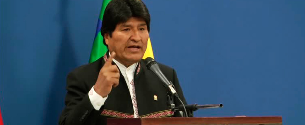 "Bolivia: from ""we are presidents"" to ""Evo or no one"""