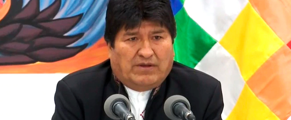 Golpe de estado en Bolivia es anunciado por Evo Morales