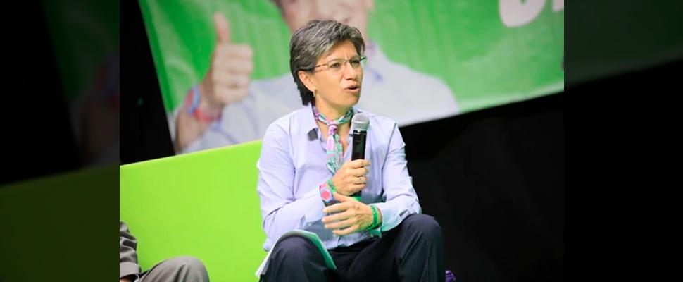 Claudia López, alcaldesa electa de Bogotá.