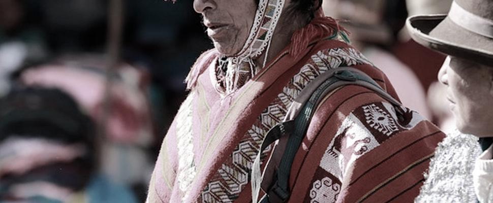 Persona de comunidad indígena.