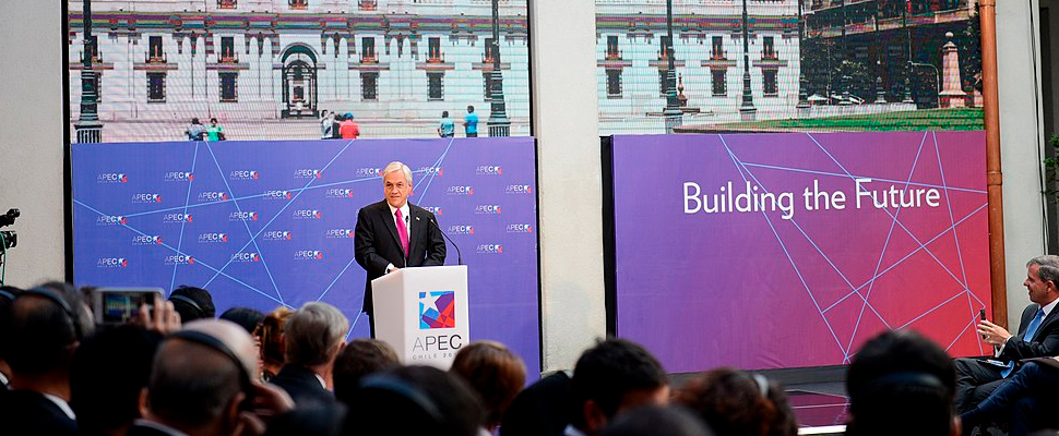 Presidente de Chile Sebastián Piñera,