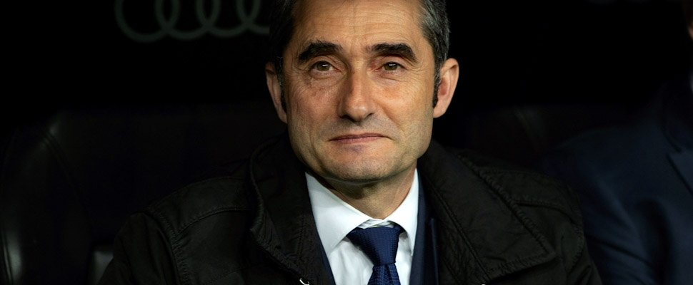 Ernesto Valverde, ex director técnico del Barcelona