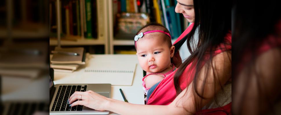 ¿Qué hace feliz a una madre que trabaja?