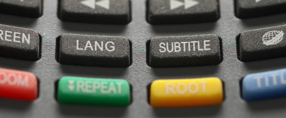 Doblaje vs. subtítulos: ¿Cómo es mejor ver contenidos?