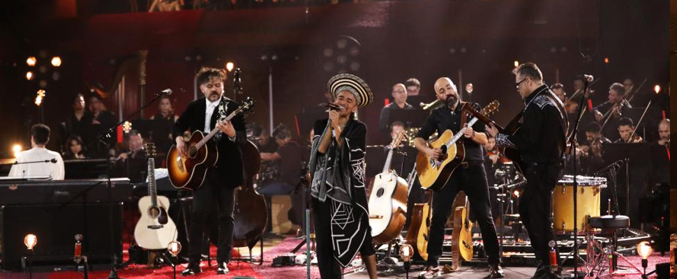 Presentation of Café Tacvba at the MTV Unplugged 2019.