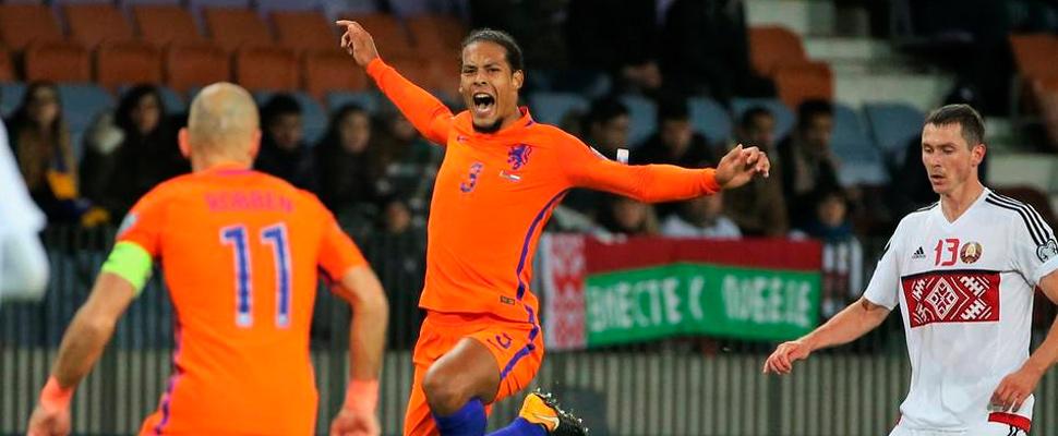Selección de Holanda.