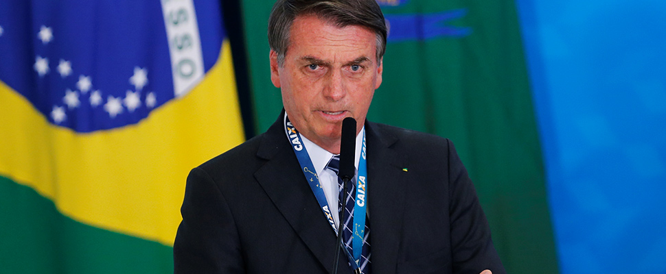 Jair Bolsonaro, president of Brazil.