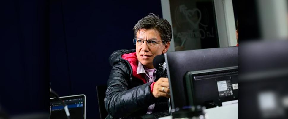 Claudia López, elected mayor of Bogotá.