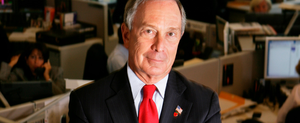 Michael R. Bloomberg.